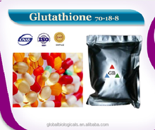 Factory high quality 99.4% human used nutraceuticals API Glutathione (GSH)/70-18-8