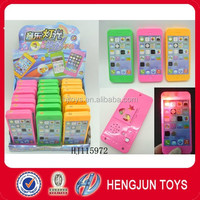 candy toys light projection phone sweet toys with music HJ115972