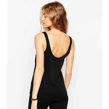 Free Sample Hot Selling Wholesale Custom 100% Cotton Women High Quality Tank Top