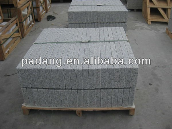 G603 Grey Granite Flamed European curbs