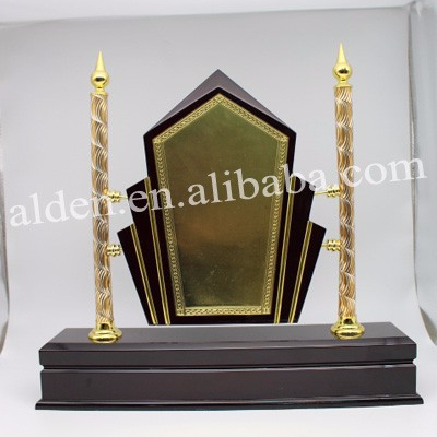 Hot sale Customize Blank wooden award plaques