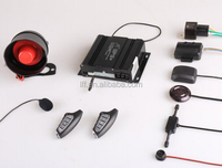 Smart phone GSM GPS car alarm system with smart start engine and smart GPS tracking Location