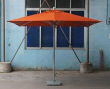 Philippines Eleanor 3X3M large square waterproof Orange Outdoor sunshade umbrella parasol