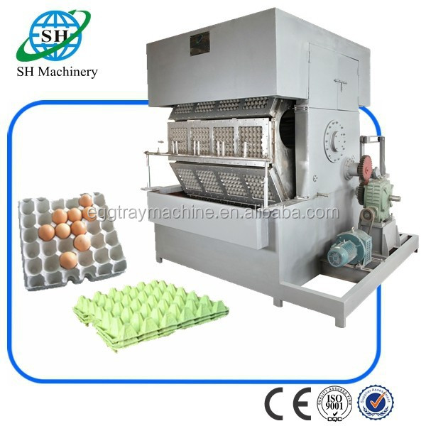 China recycling paper pulp egg tray making machine
