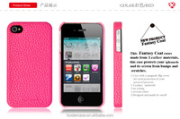 Special design protective back PC case For Apple iphone 4