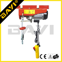Construction Building Material Electric Lifting Motor Hoist 1000kg portable Wire Rope Hoist