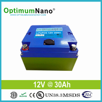 The lightest 12v30ah LiFePo4 battery for Golf cart