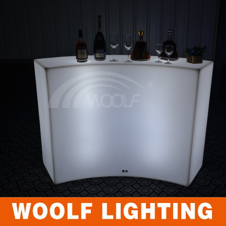 new design led event curved bar counters