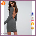 customize backless sexy dress,hot selling stripe ladies western dress designs