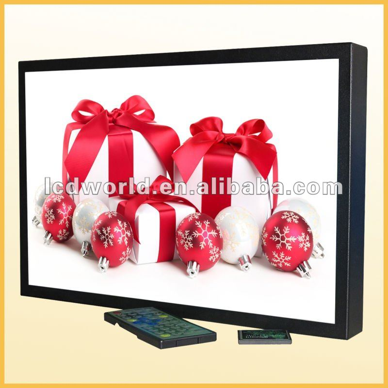 20inch Digital signage Media Advertising LCD with CF/SD Card Port