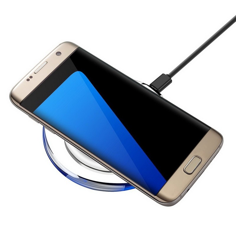 new products on Amazon Charging Pad Qi Wireless phone power bank Charger for samusng for iphone OEM order