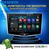ZESTECH 10.2inch Android 4.4.4 car video for VW Magotan with dvd gps 3G Audio Video Player bulit-in wifi