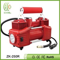 Portable dc 12v mini big red air machines car air compressor