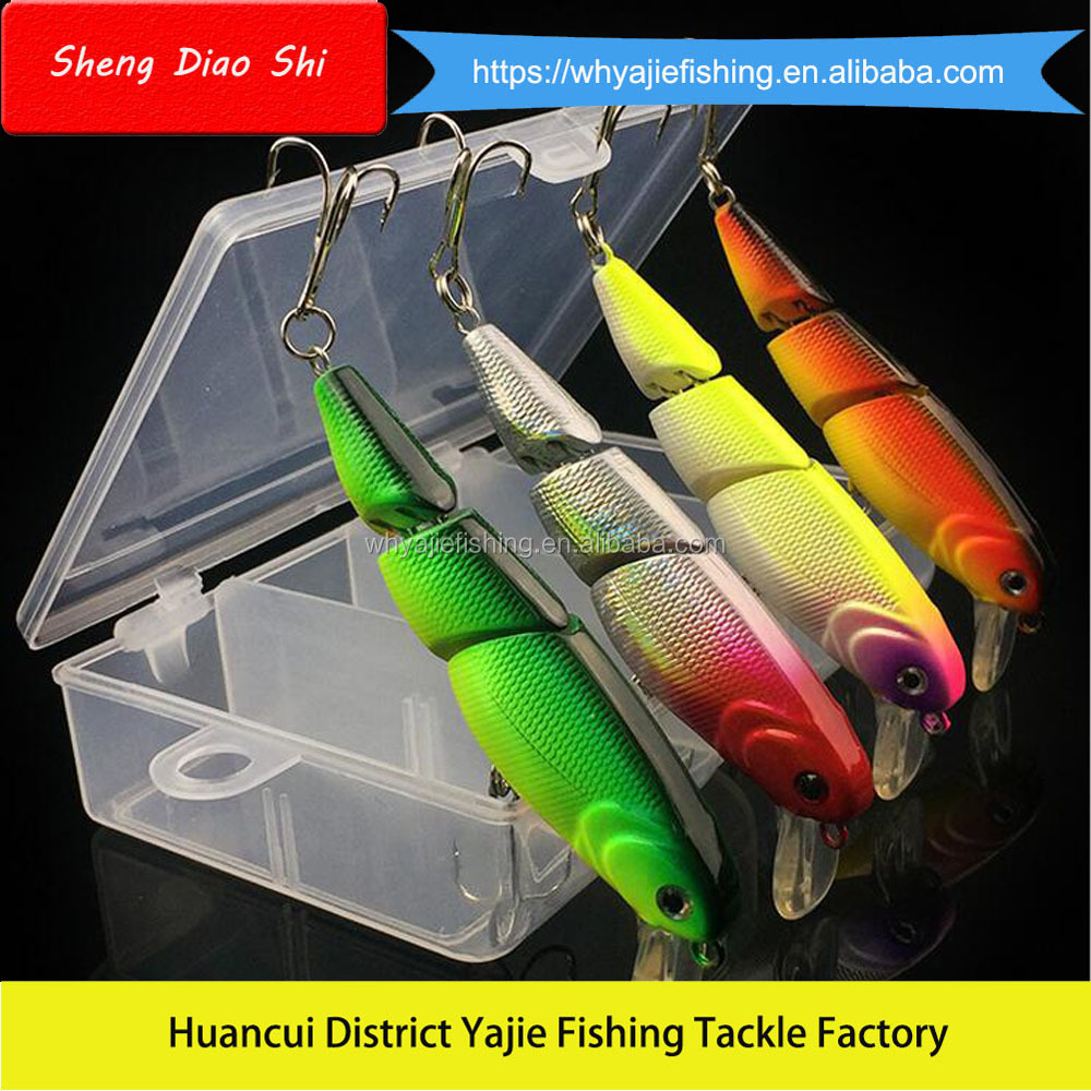 Hard Minnow Lures Set Wholesale from Yajie Fishing Tackle China