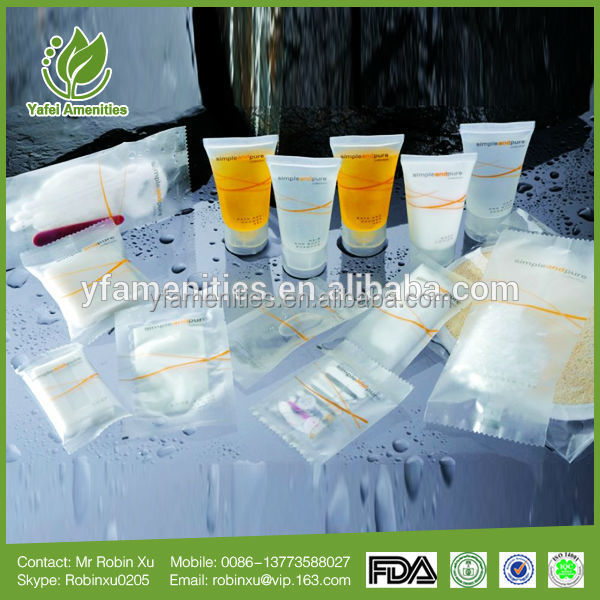 As a result of our high quality products new style high quality hotel guest amenities