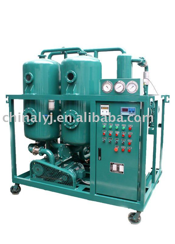 Waste Transformer oil Regenerating System
