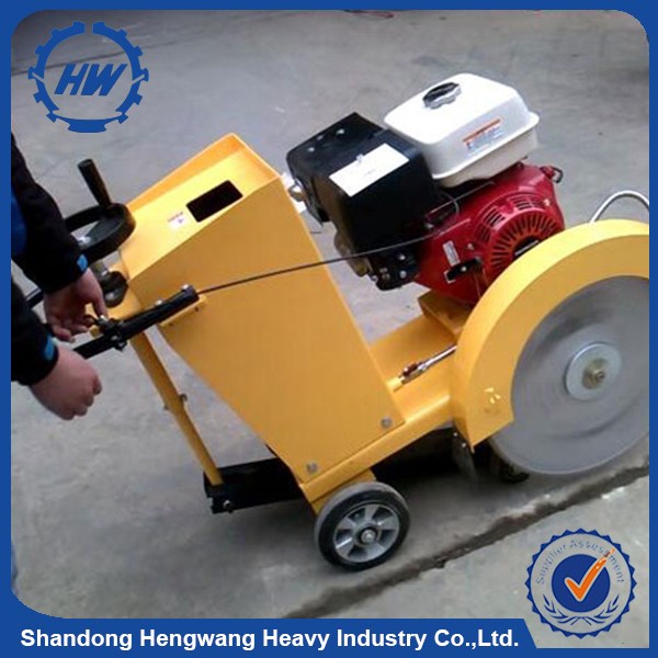 Walk Behind Gasoline Asphalt Concrete Road Cutter Road Used Cutting Saw Machine