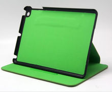 New design! Impact-resistant pu leather hard back cover case for ipad mini