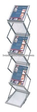 acrylic tray free standing catalog stand