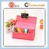 Top quality red Storage paper box printing