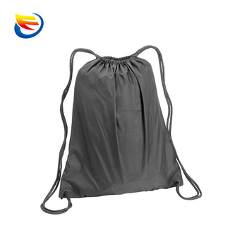 Drawstring Cinch Sack Colorblock Backpack School Tote Gym Beach Travel Bag