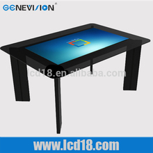 42 inch table desk 1080P full hd 3g wifi android system touch screen fashion advertising diaplay