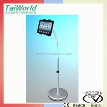 Flexible Long Gooseneck Tablet Holder Floor Standing Holder for Tablet PDC iPad Kindle