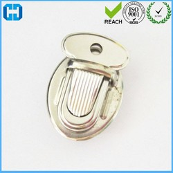 New Style Insert Button Luggage Accessories Lock Buckle Jewelry Purse Handbag Lock