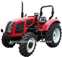 Chinese farm machinery wheeler tractor with implements and attachments