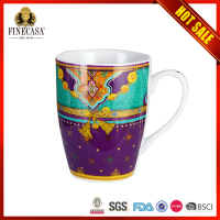 2015 Top Quality Cheaper Bulk Colorful paintable ceramics coffee mug