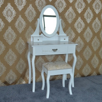 Handmade colorful fashion mdf white drawer dresser with mirror bedroom furniture