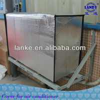 Aluminum foil bubble insulating air conditioner pipe cover