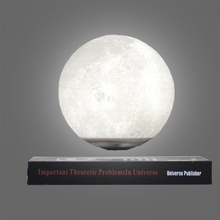 HCNT 3D printing moon light book base levitating wireless LED moon night light