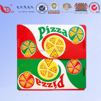 OEM Cheap frozen food box packaging pizza delivery box
