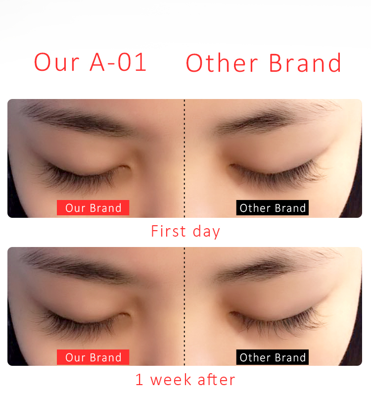 Innovative Technology Latex free Strong Eyelash Extension Glue 8 Long Lasting