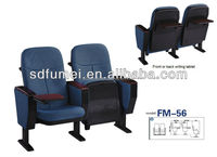 Low price plastic auditorium seating with tablet FM-56