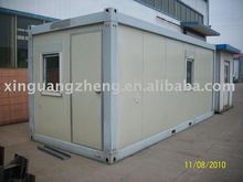 Steel structure prefab container house