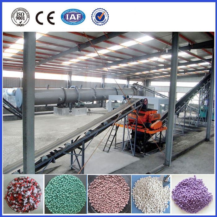 Professional npk compound fertilizer production line