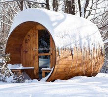 Fairy tale cottage outdoor sauna room barrel steam sauna room