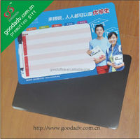 Promotional custom made Colorful magnetic dry erase board