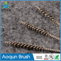 Wholesale diamond abrasive brush for polishing stones with steel wire