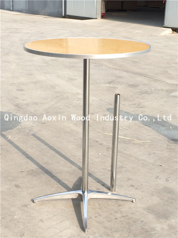 outdoor party highboy cocktail table