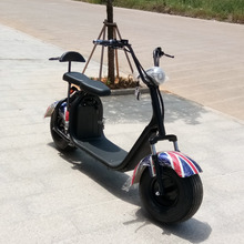 2017 newest citycoco front Angel eye lantern electric scooter 1000w 60v