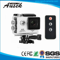 2016 Cheap WIFI Full hd 1080P 720p 60FPS sports action camera underwater Waterproof 30M Outdoor