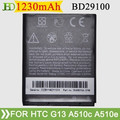 Model G13 BD29100 battery 1230mah small spice cell phone battery
