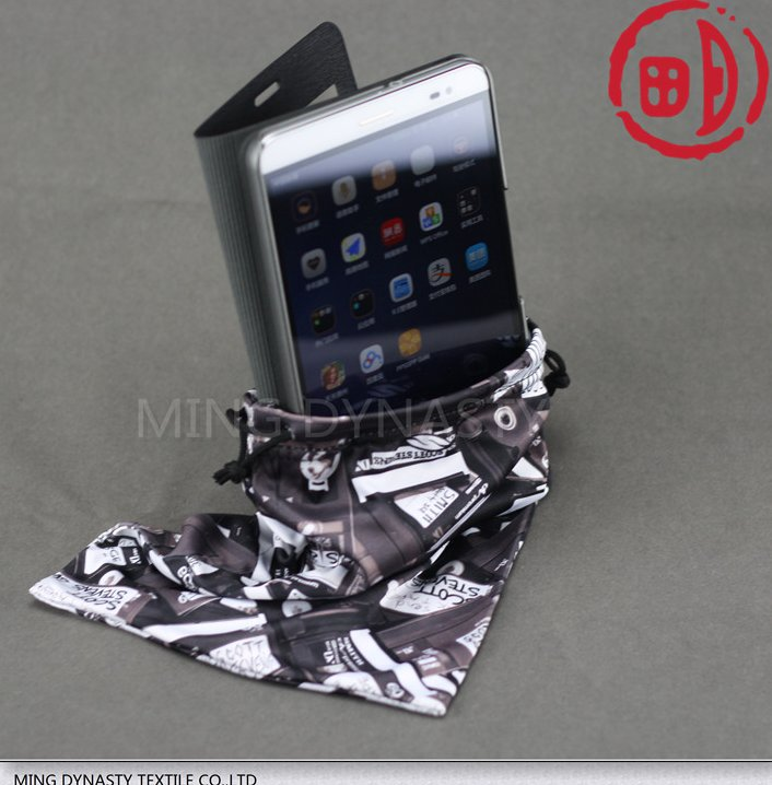 High quality 100% polyester mobile phone case