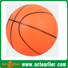 kids 6'' toy basketball with pump