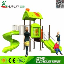 Outdoor playground Kids plastic set equiqpment CC146--COCOU HOUSE Toys