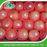 Sweet red fresh fuji apple originated from Shanxi