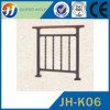 CE Certified garden lowes wrought iron railings glass balustrade for pipe welding